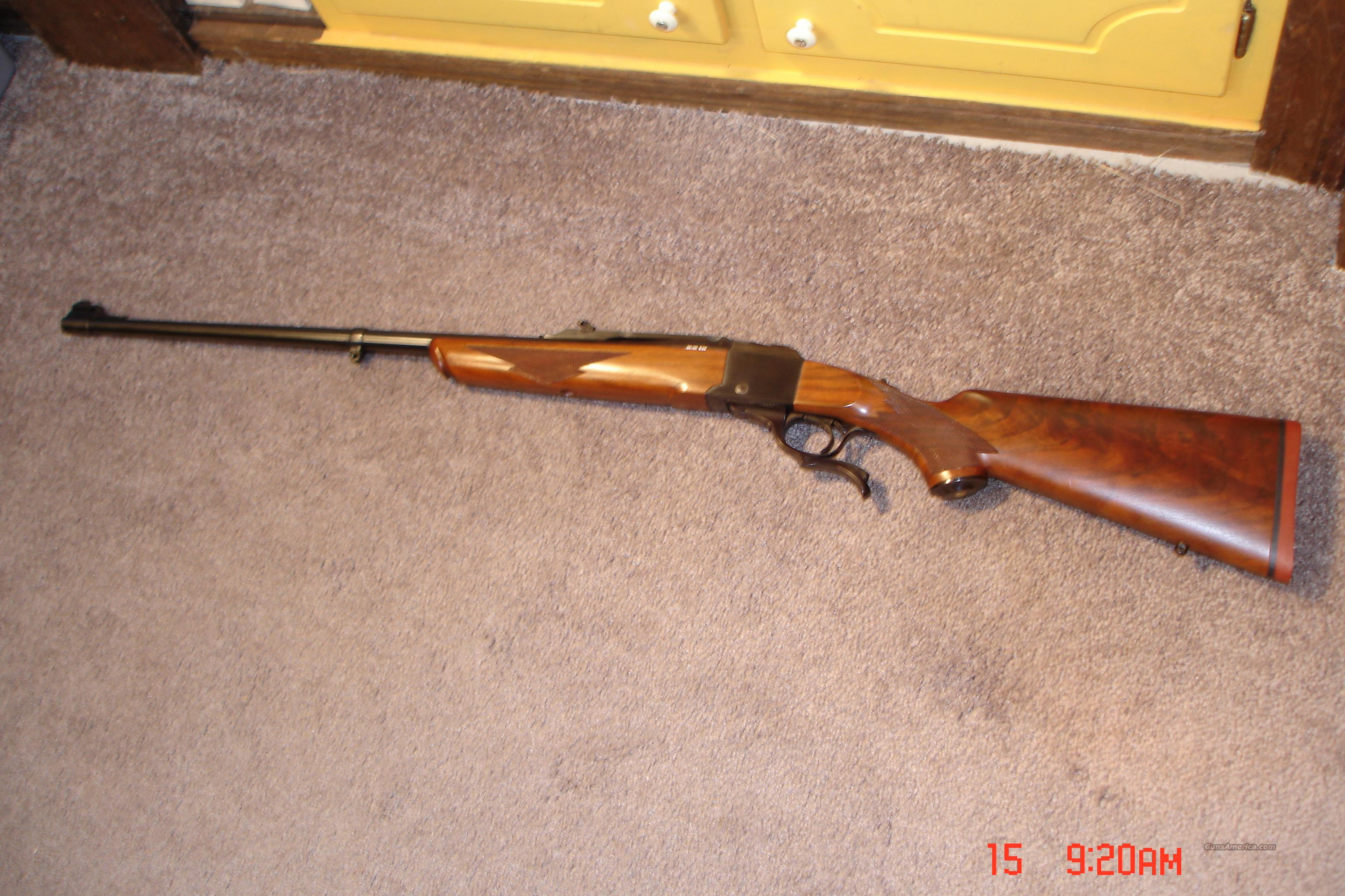 Ruger #1-S inRrare .38/55Win.  Guns > Rifles > Ruger Rifles > #1 Type