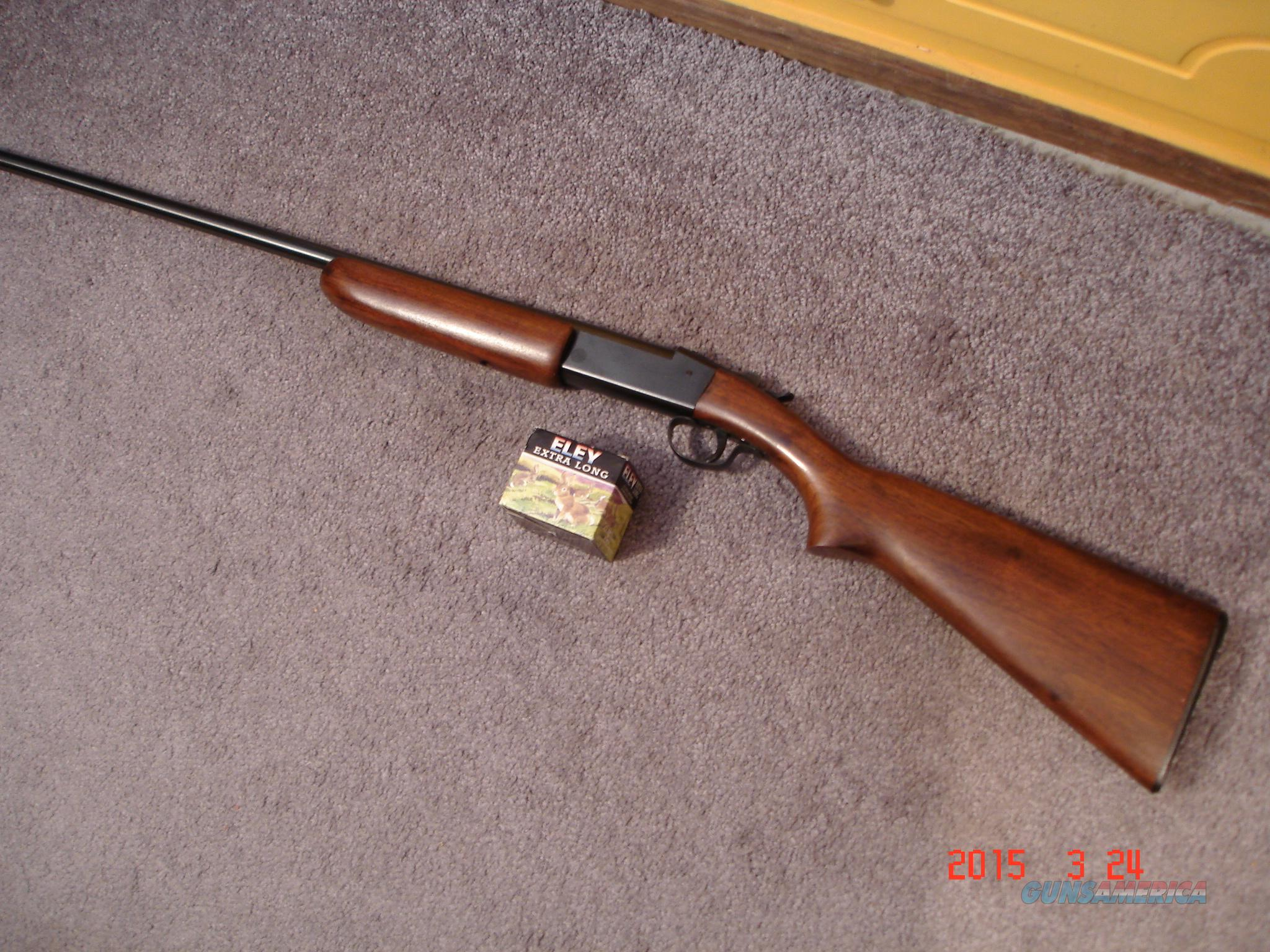 "Win. Mod. 37 .410Ga. Steel Built 26""BBl. MINT   Guns > Shotguns > Winchester Shotguns - Modern > Bolt/Single Shot"