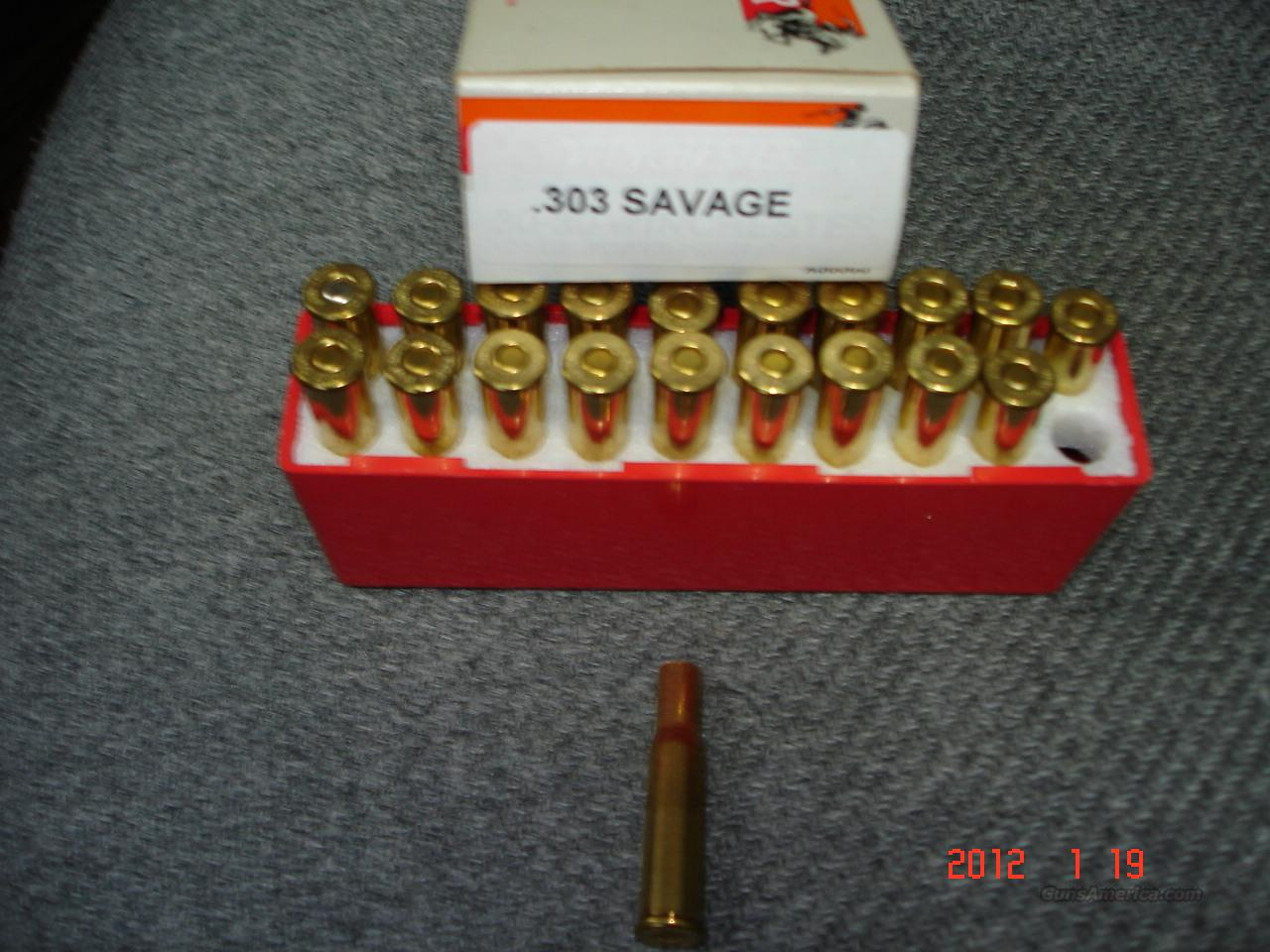 Rare .303SAVAGE Primed Win.Brass  Non-Guns > Reloading > Components > Brass