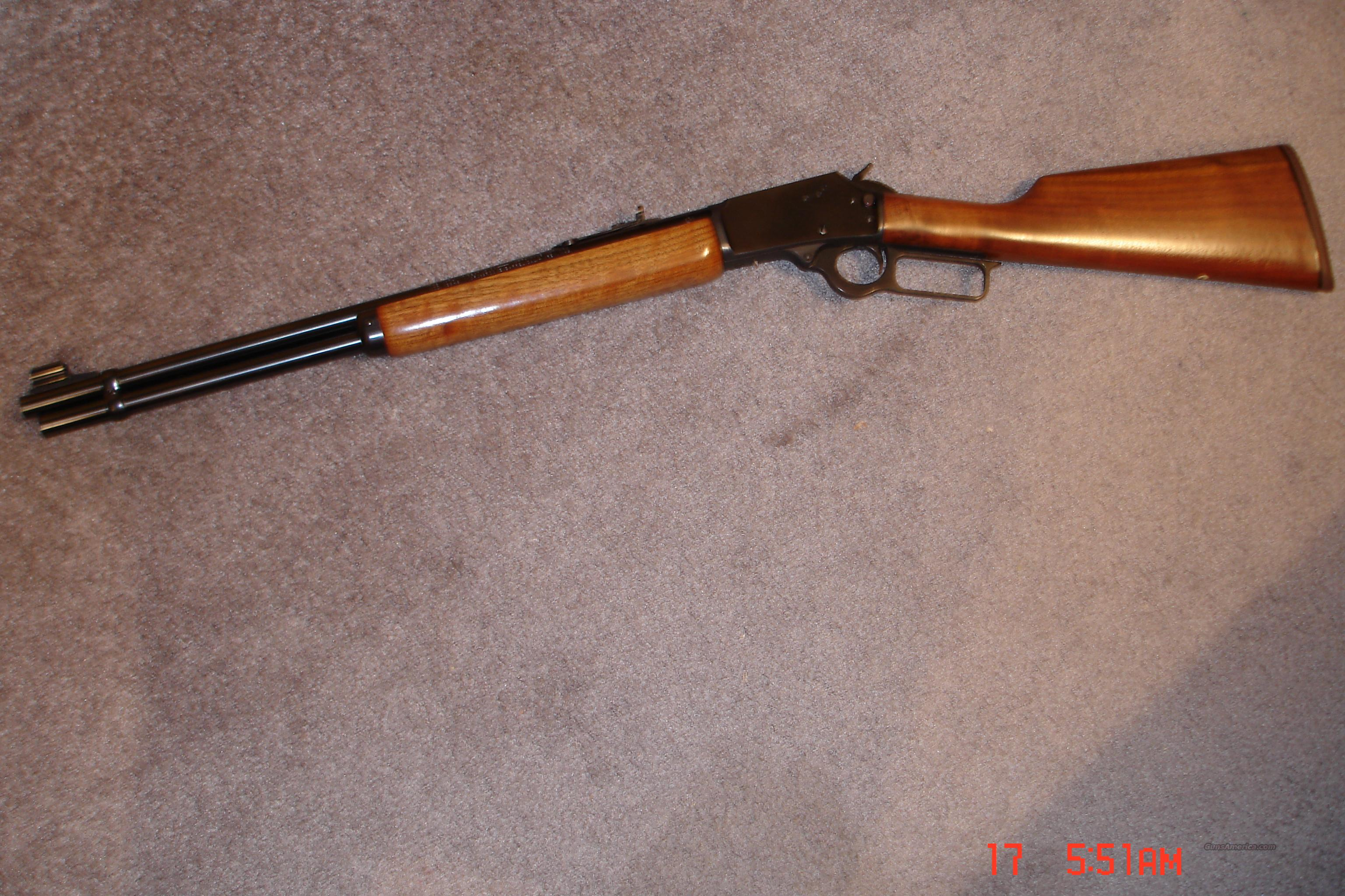 Marlin Mod.1894S .41 Magnum  Guns > Rifles > Marlin Rifles > Modern > Lever Action