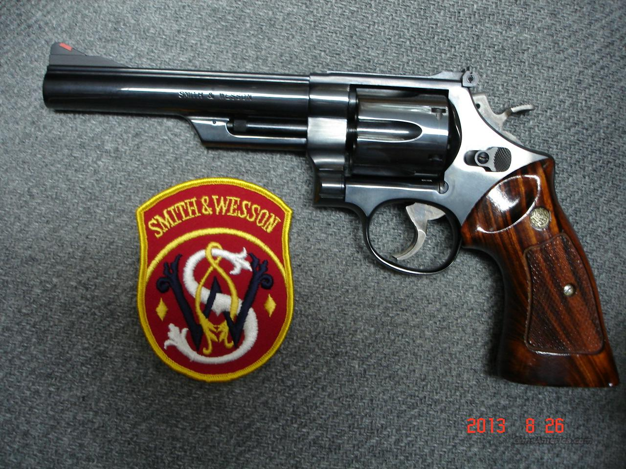 "S&W Mod.57-1 6"" Blue .41Mag. Mint  Guns > Pistols > Smith & Wesson Revolvers > Full Frame Revolver"