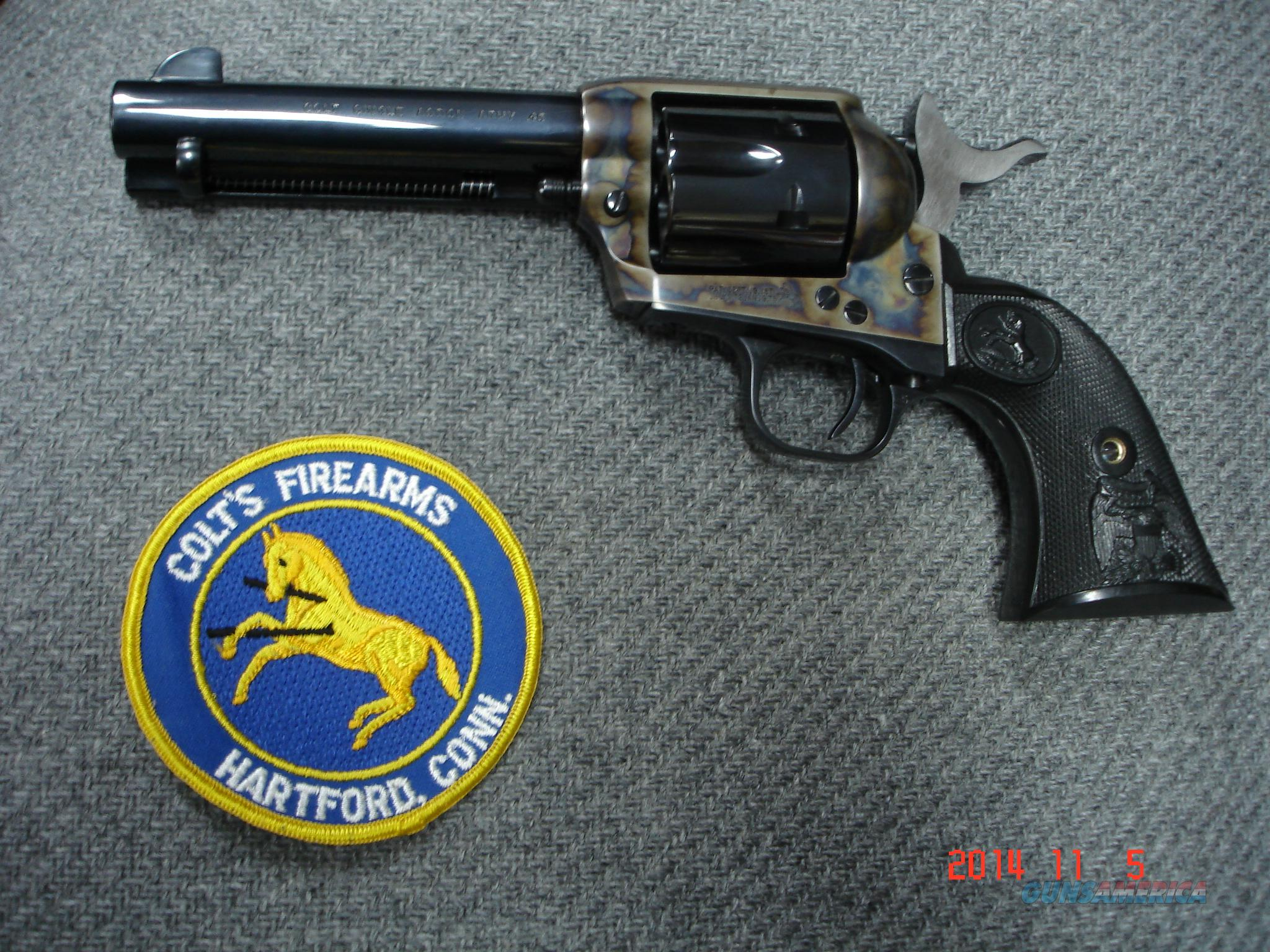"Colt SAA 3rd. 4 3/4"" B&C .45 Colt Model P-1840 New no box  Guns > Pistols > Colt Single Action Revolvers - 3rd Gen."