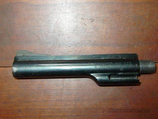 """COLT TROPPER 6"""" BARREL .357  Non-Guns > Barrels"""