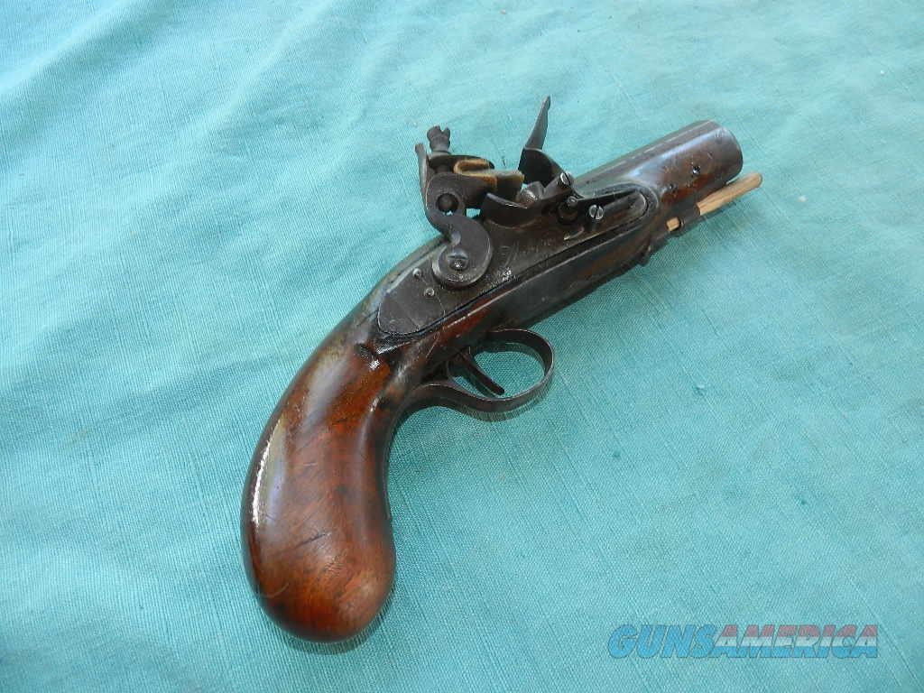 FRENCH COAT FLINTLOCK PISTOL  Guns > Pistols > Muzzleloading Pre-1899 Pistols (flint)