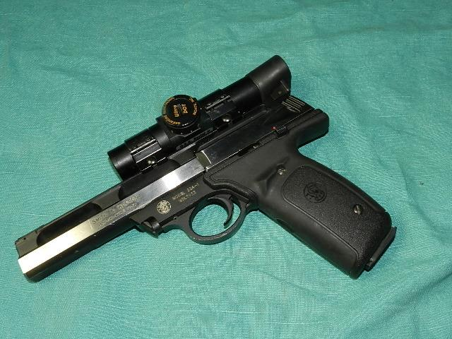 Victory Auto Sales >> S&W MODEL 22A-1 AUTO WITH ULTRA DOT SCOPE for sale