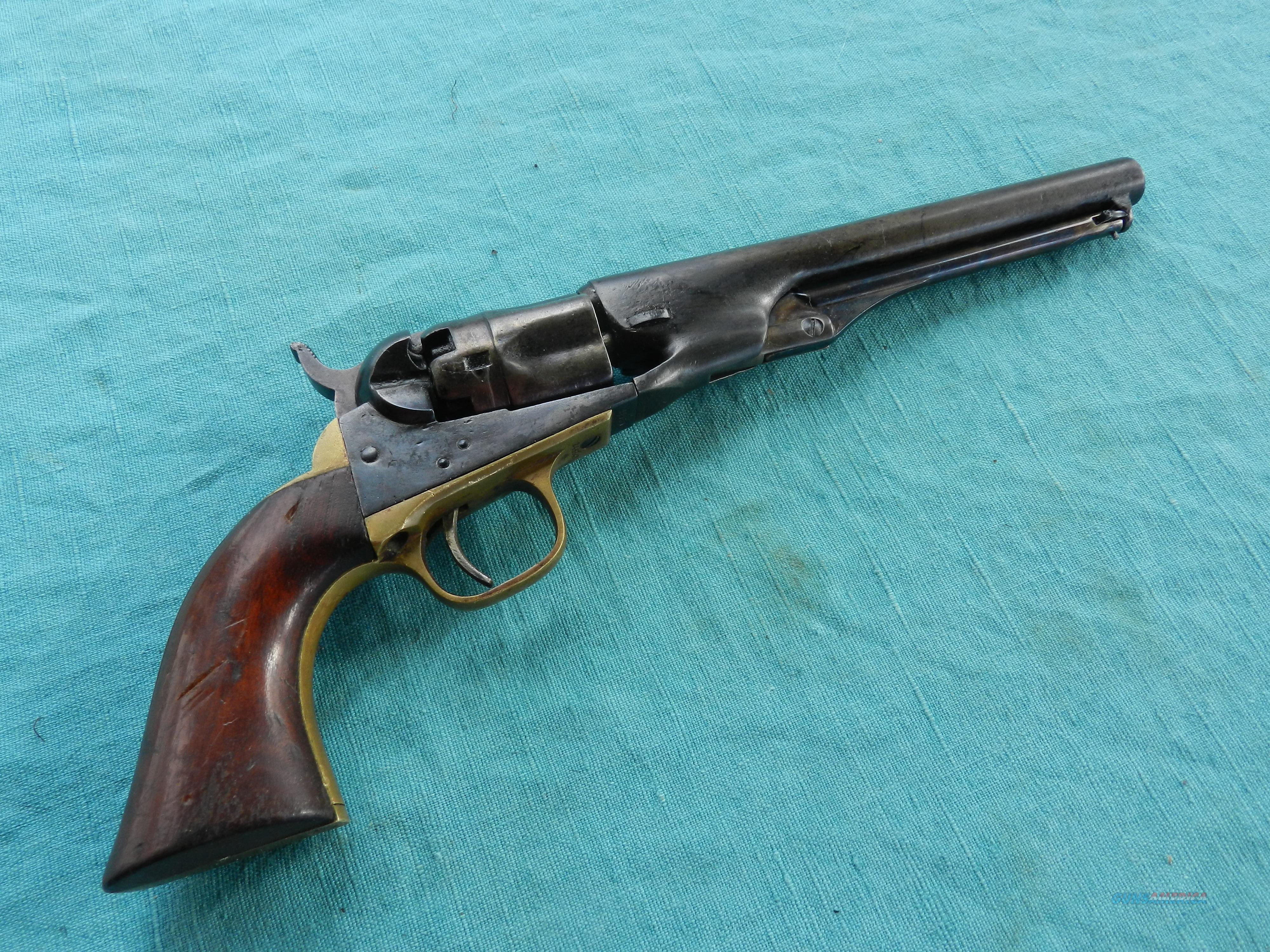 COLT 1862 POLICE .36 CALIBER REVOLVER MADE 1862  Guns > Pistols > Colt Percussion Revolver - Pre-1899