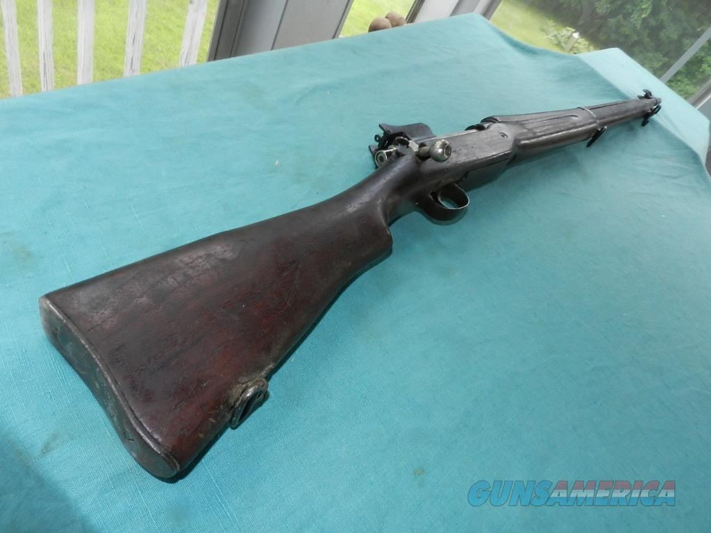 REMINGTON 1917 BOLT ACTION DATED 1918  Guns > Rifles > Military Misc. Rifles US > Model 1917 Variants
