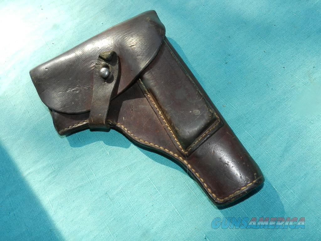 FN BROWNING HI-POWER WWII GERMAN HOLSTER  Non-Guns > Holsters and Gunleather > Military