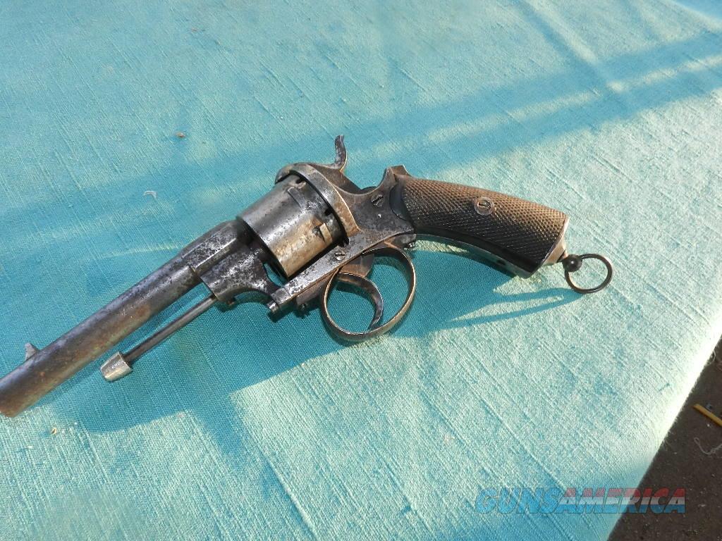 CIVIL WAR  .36 PIN FIRE REVOLVER  Guns > Pistols > Antique (Pre-1899) Pistols - Ctg. Misc.
