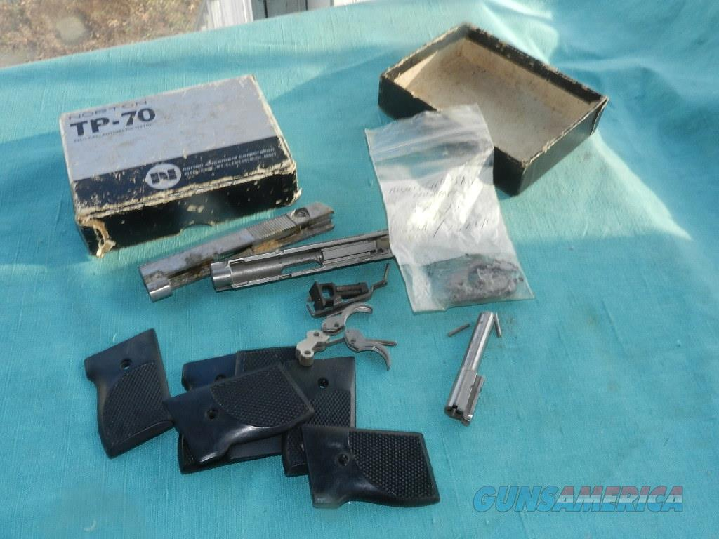 Norton Tp-70 .22lr/.25acp Box Of Misc Parts .25 ACP  Non-Guns > Gun Parts > Misc > Pistols