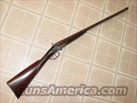 HENRY RICHARDS 12 GA HAMMER SHOTGUN  Guns > Shotguns > Antique (Pre-1899) Shotguns - Misc.