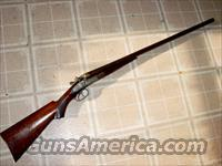 T_ Barker Shotguns http://www.gunsamerica.com/914380544/Guns/Shotguns/Antique/T_BARKER_ENGRAVED_12GA_HAMMER_DOUBLE.htm