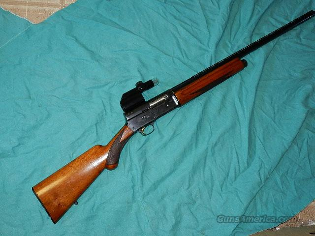 BROWNING A5 BELGIUM LIGHT 12GA.  Guns > Shotguns > Browning Shotguns > Autoloaders > Hunting