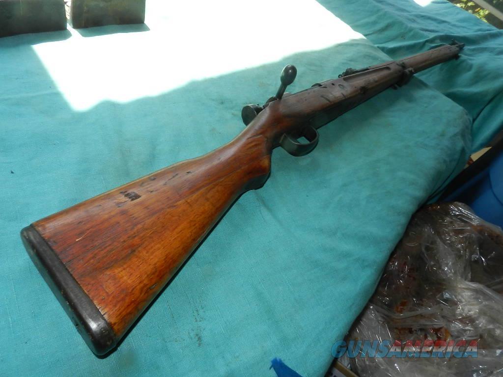 ARISAKA TYPE 99 MATCHING SHORT RIFLE 7.7 CAL  Guns > Rifles > Military Misc. Rifles Non-US > Other