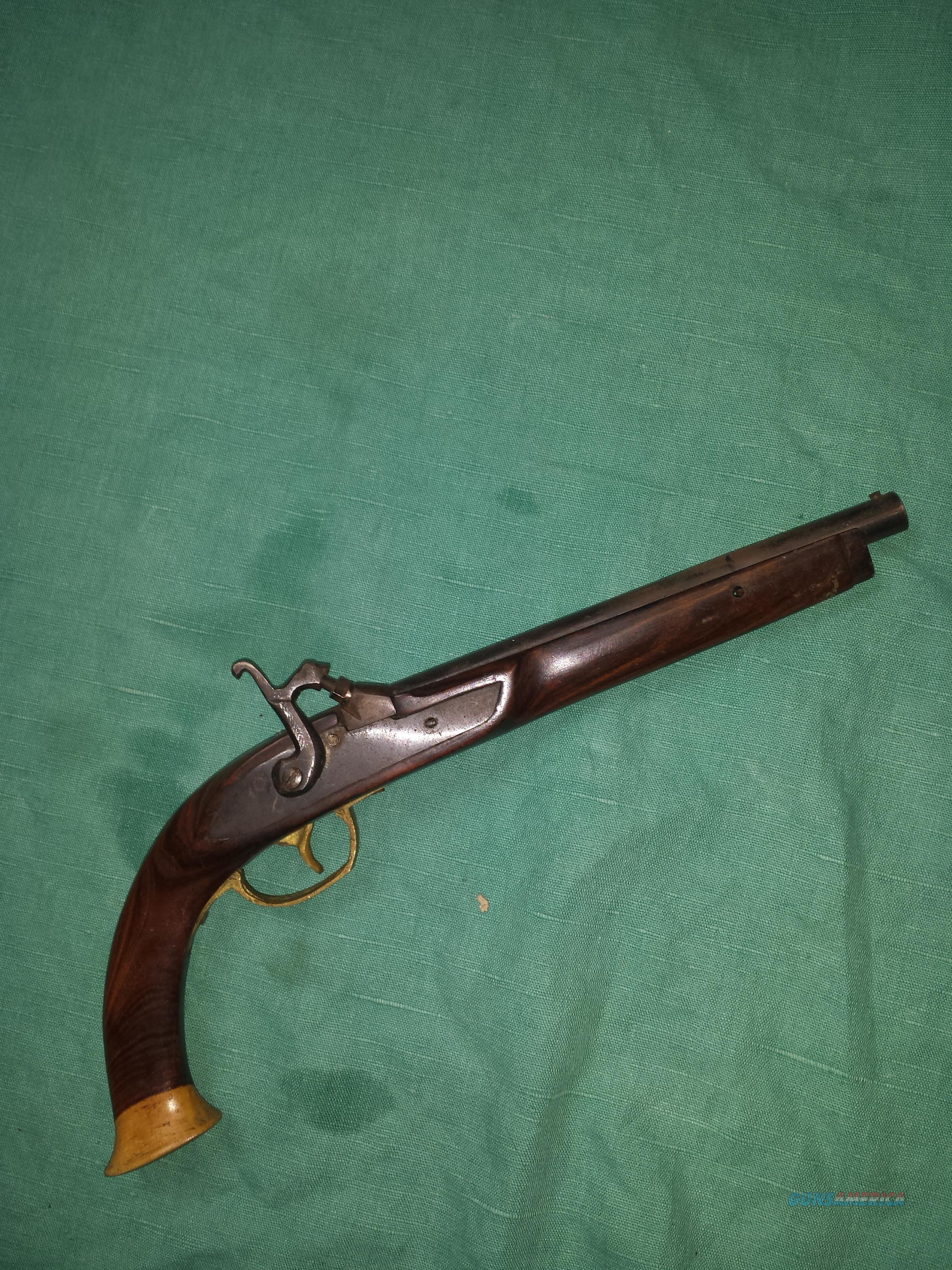 SMALL PERCUSSION .36 CAL CHILD'S PISTOL  Guns > Pistols > Muzzleloading Modern & Replica Pistols (perc)