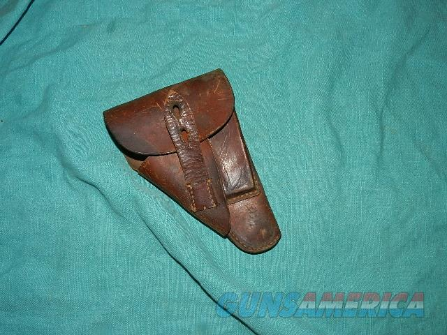 WALTHER PPK WWII HOLSTER  Non-Guns > Holsters and Gunleather > Military