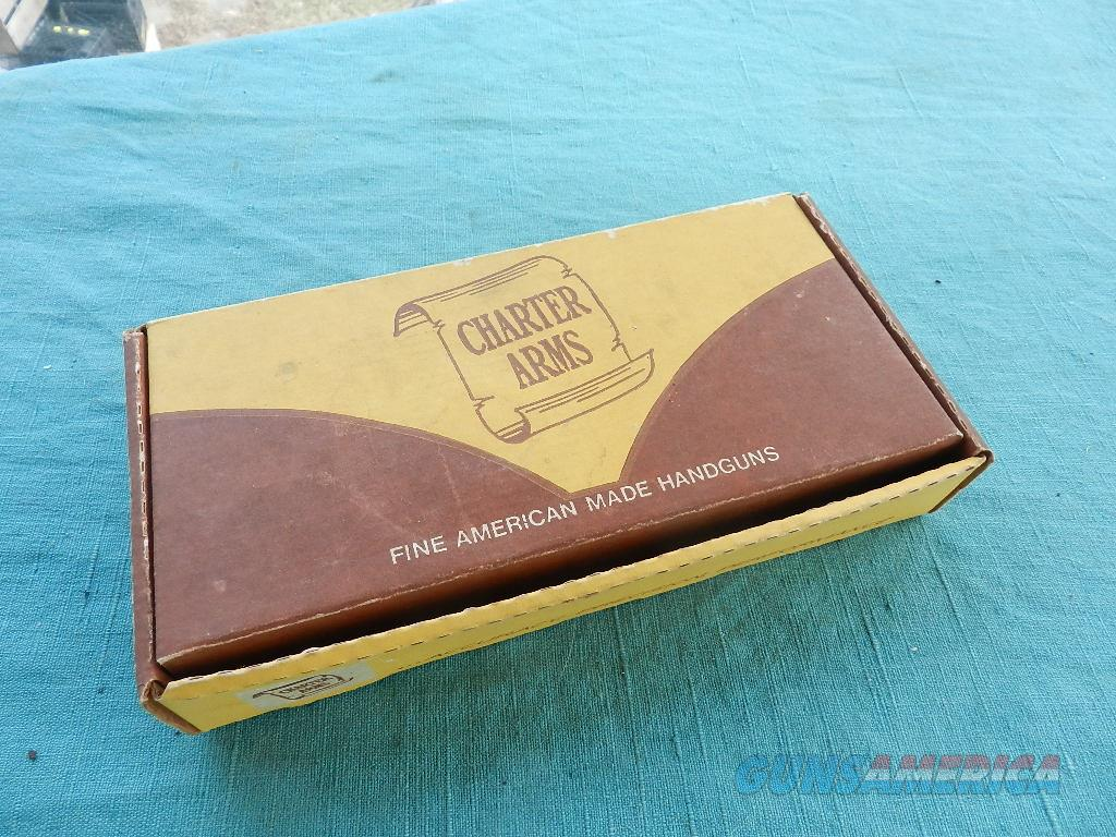 CHARTER ARMS .38 CAL BOX WITH PAPERS  Non-Guns > Gun Cases