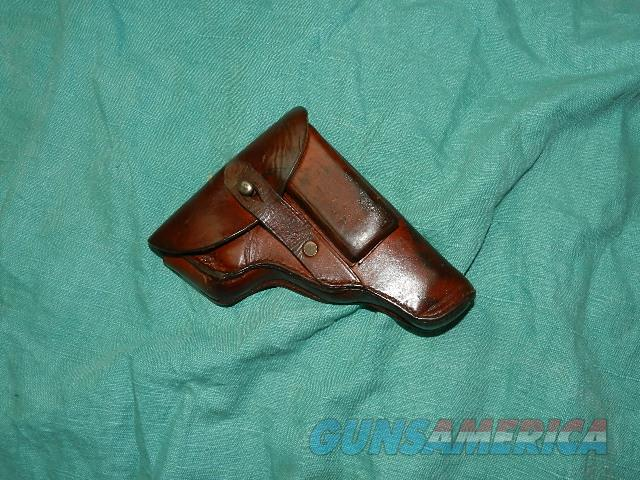 GERMAN WWII OFFICERS .25 AUTO MILITARY HOLSTER  Non-Guns > Holsters and Gunleather > Military