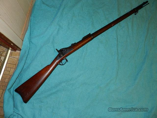 SPRINGFIELD 1884 TRAPDOOR  RIFLE  Guns > Rifles > Military Misc. Rifles US > Pre-1900