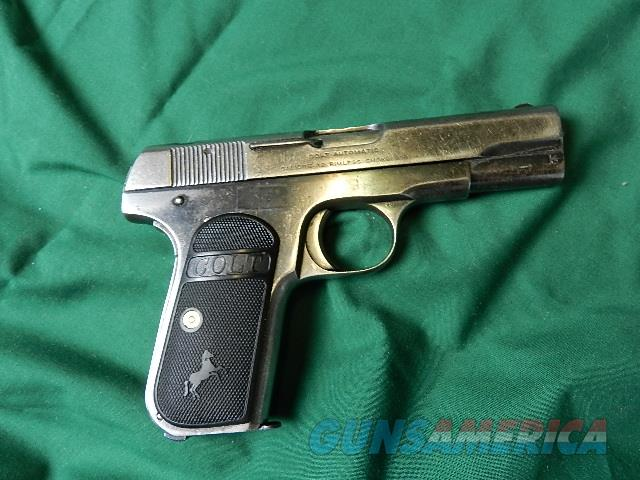 COLT 1903 HAMMERLESS .32 MADE IN 1920  Guns > Pistols > Colt Automatic Pistols (.25, .32, & .380 cal)