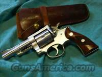 RUGER SECURITY SIX  STAINLESS .357  Guns > Pistols > Ruger Double Action Revolver > Security Six Type