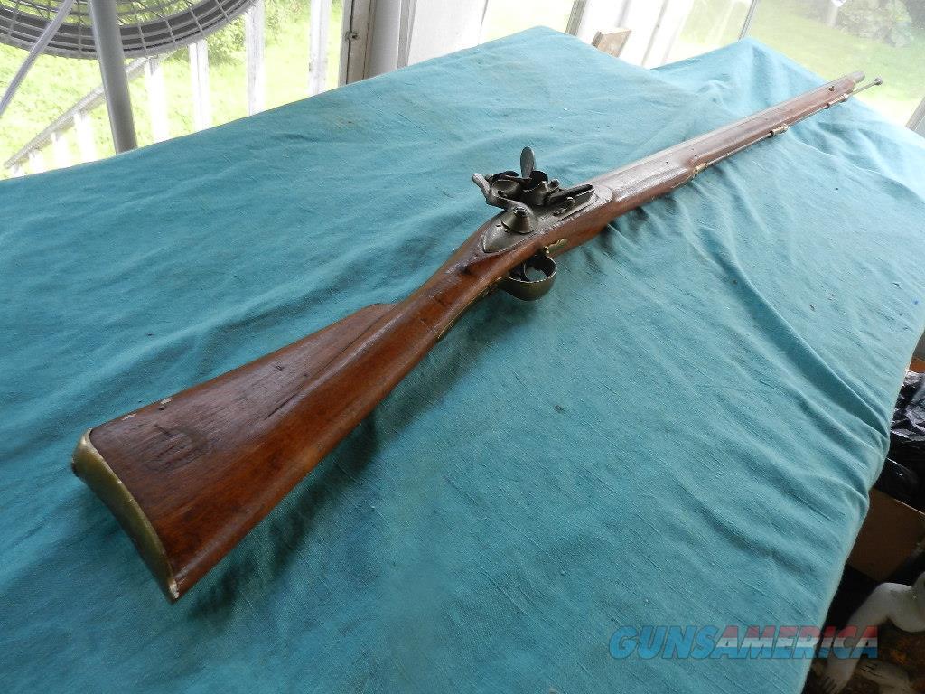 OFFICERS FUSIL BARNETT FLINTLOCK MUSKET .68 CAL.  Guns > Rifles > Antique (Pre-1899) Rifles - Flintlock Misc