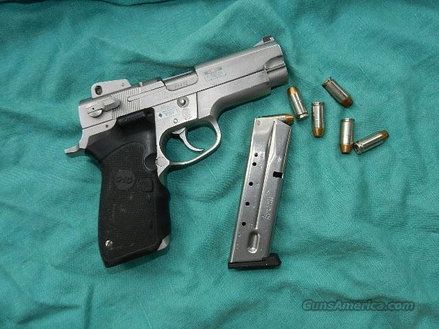 S&W MODEL 4006 LAZER GRIPS .40S&W CAL.  Guns > Pistols > Smith & Wesson Pistols - Autos > Steel Frame