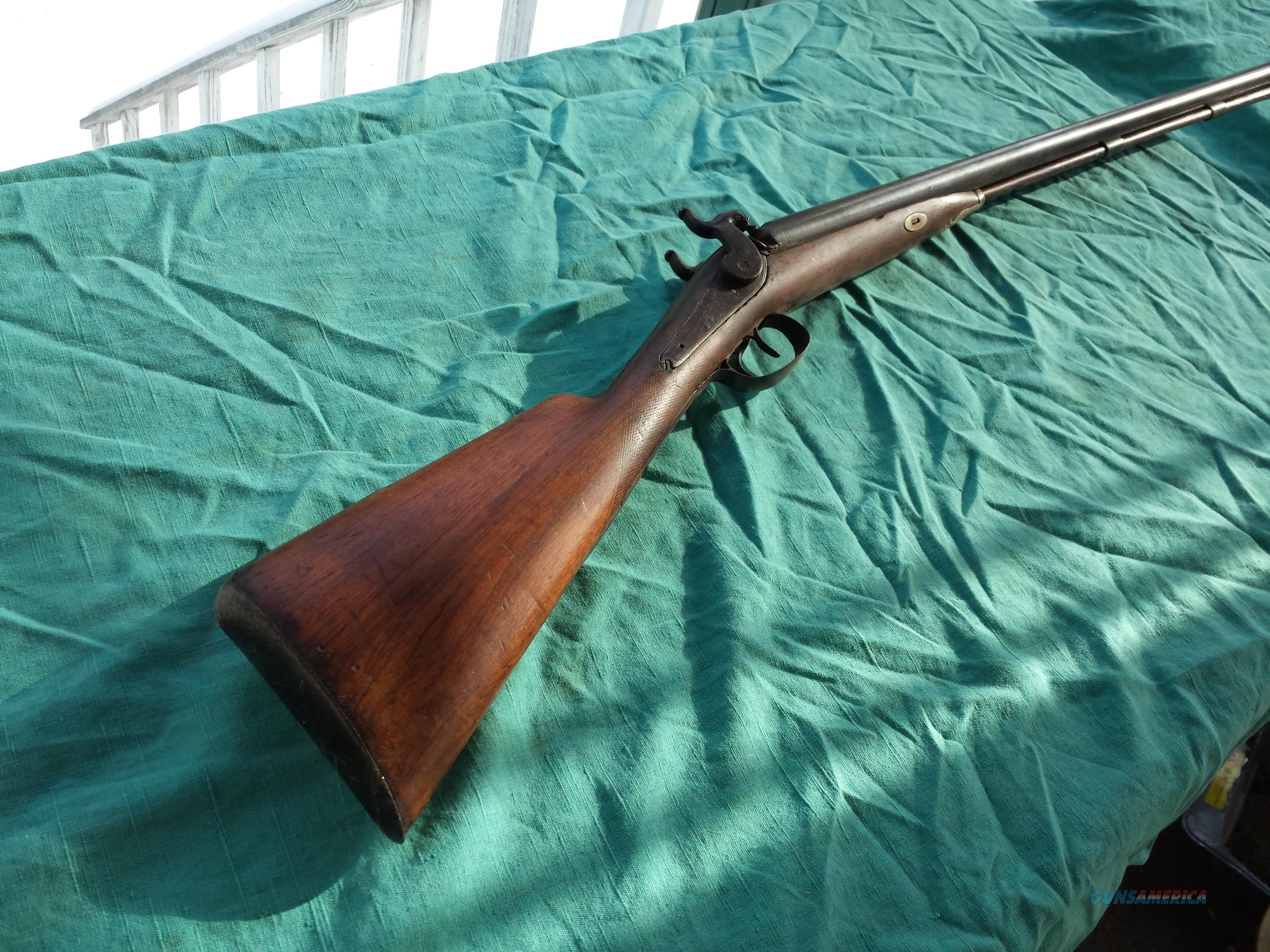 MUZZLE-LOADER 12GA  1850 DOUBLE   Guns > Shotguns > Muzzleloading Pre-1899 Shotguns