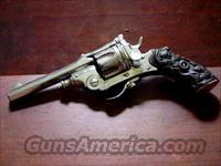 ENGRAVED FOLDING TRIGGER .32 REVOLVER  Guns > Pistols > Antique (Pre-1899) Pistols - Ctg. Misc.