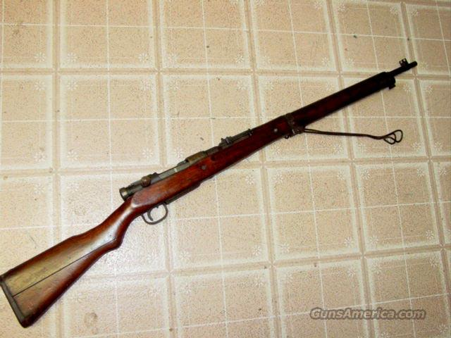 JAPANESE ARISAKA MONOPOD T 99 SHORT RIFLE 7.7 CAL.  Guns > Rifles > Military Misc. Rifles Non-US > Other