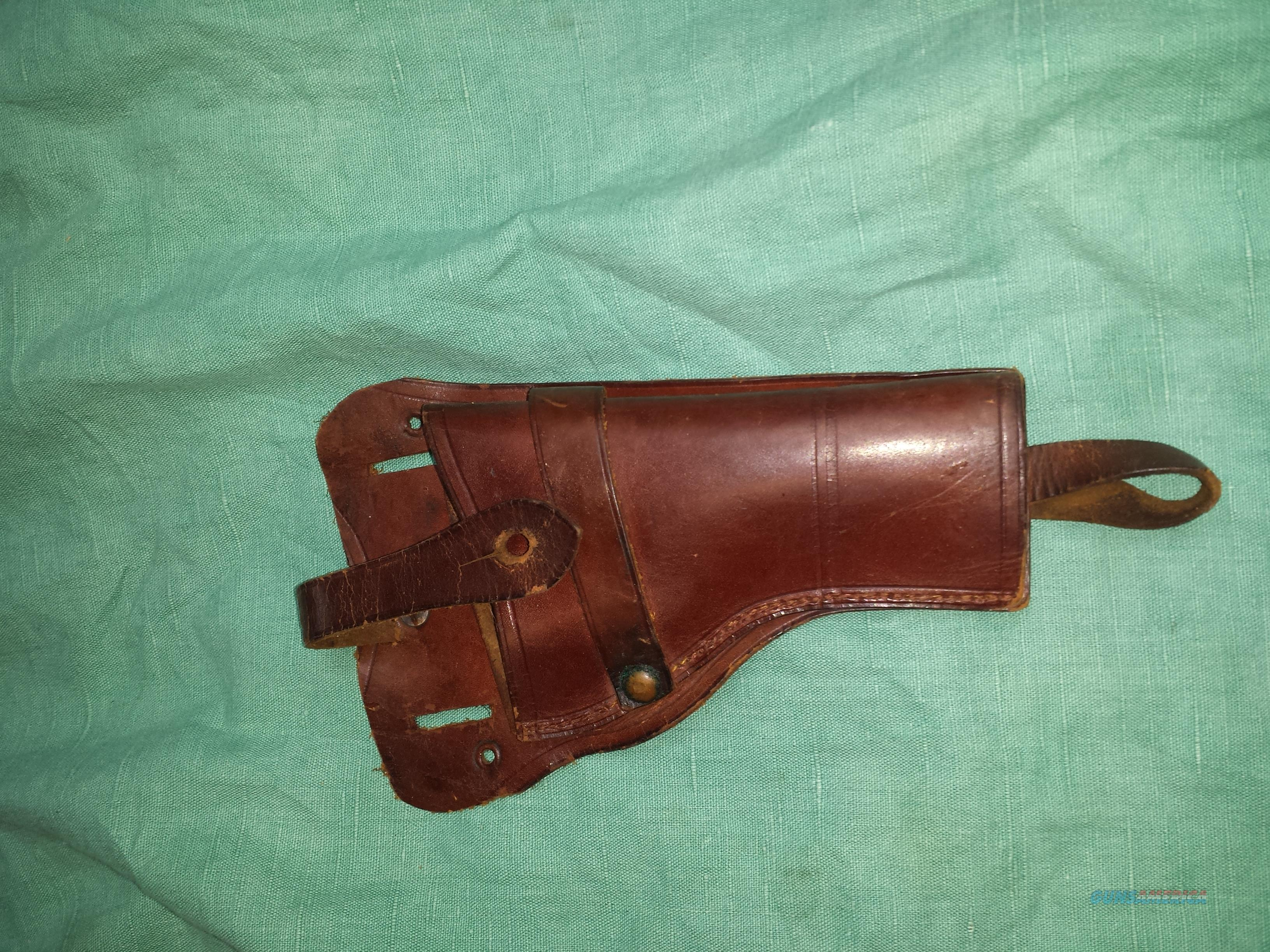 LARGE FRAME AUTO LEATHER HOLSTER  Non-Guns > Holsters and Gunleather > Large Frame Auto