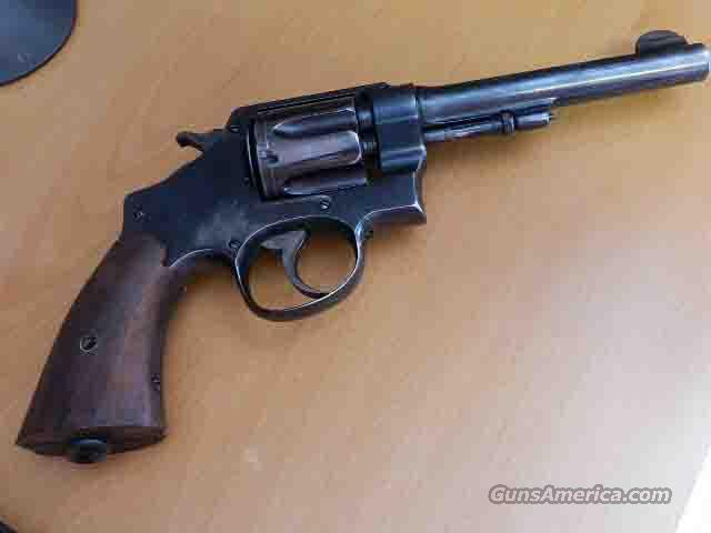 S&W 1917 REVOLVER  Guns > Pistols > Smith & Wesson Revolvers > Pre-1945