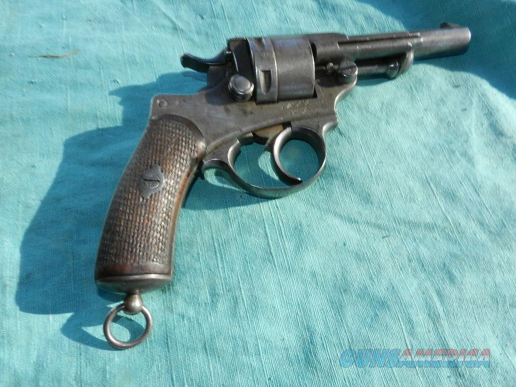 FRENCH MODEL 1873 REVOLVER 11MM  Guns > Pistols > Military Misc. Pistols Non-US