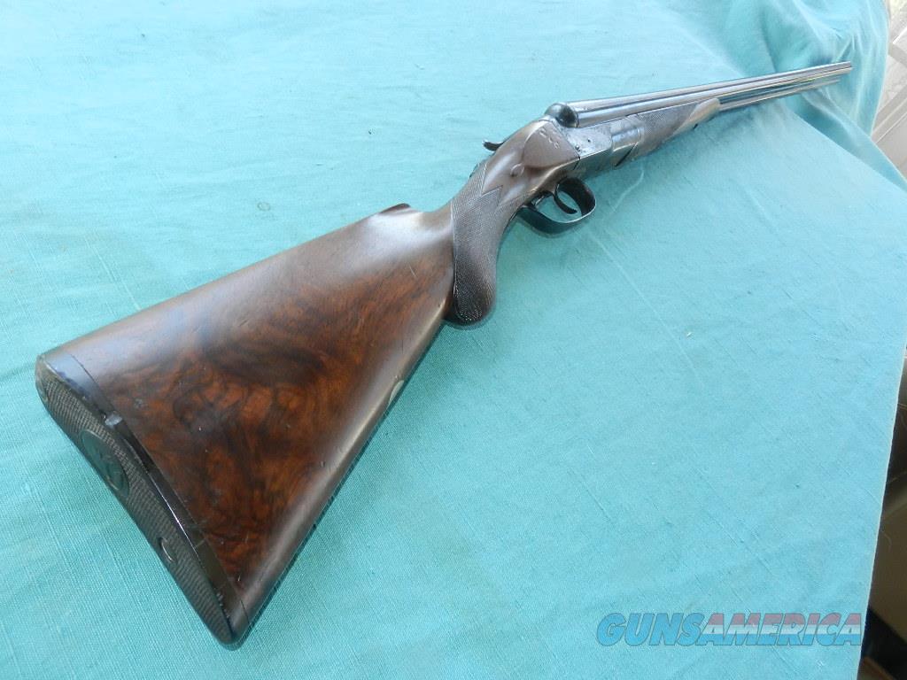 COLT 1883 HAMMERLESS FACTORY ENGRAVED 12GA. DOUBLE  Guns > Shotguns > Colt Shotguns