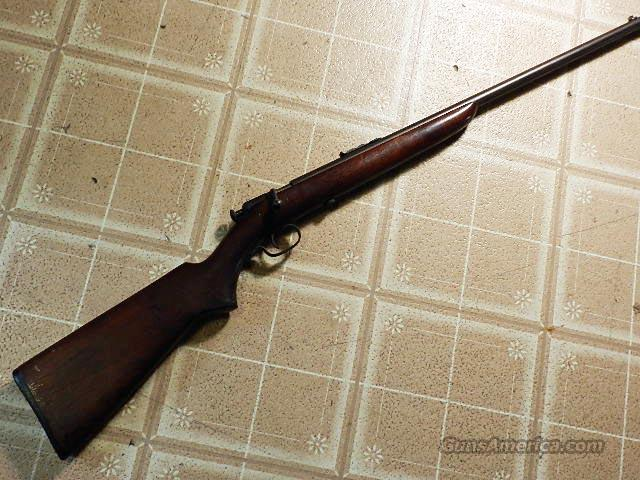 WINCHESTER MODEL 60A BOLT ACTION  Guns > Rifles > Winchester Rifles - Modern Bolt/Auto/Single > .22 Boys Rifles