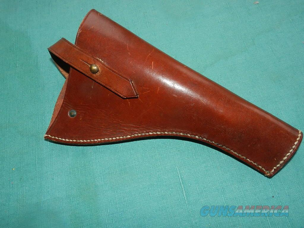 WEBLEY LARGE FRAME .45 REVOLVER MILITARY HOLSTER  Non-Guns > Holsters and Gunleather > Military