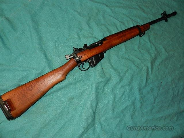 British No 5 MK I Jungle Carbine and Bayonet Sale Number