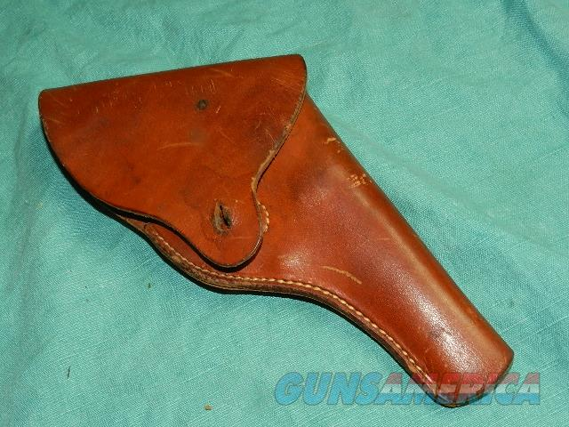 S&W WWII ISSUED VICTORY MODEL HOLSTER  Non-Guns > Holsters and Gunleather > Military