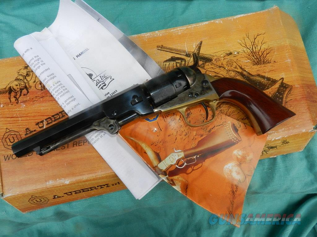 UBERTI 1862 POCKET NAVY COLT REVOLVER .36 CAL.  Guns > Pistols > Muzzleloading Pre-1899 Pistols (perc)