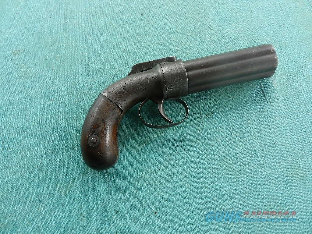 ALLEN & WHEELOCK .31 CAL PEPPERBOX  Guns > Pistols > Muzzleloading Pre-1899 Pistols (perc)