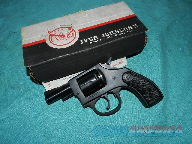 IVER JOHNSON NIB 55 CADET 22MAG  BLUE  REVOLVER  Guns > Pistols > Iver Johnson Pistols