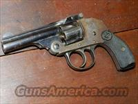 U.S. REVOLVER HAMMERLESS .32 S&W  Harrington & Richardson Pistols