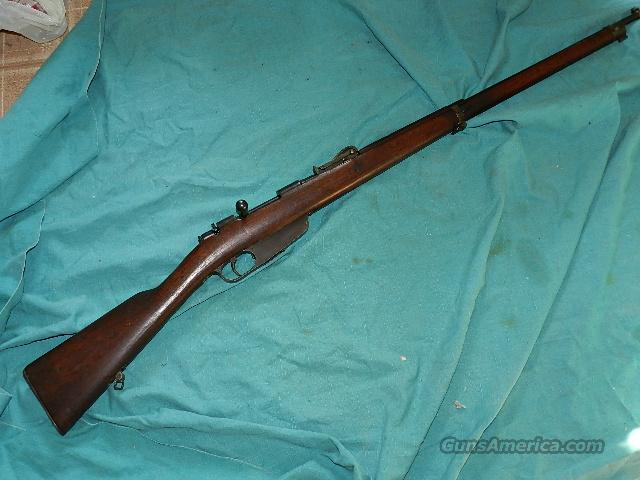 CARCANO 1891 ROMA  RIFLE  Guns > Rifles > Military Misc. Rifles Non-US > Other