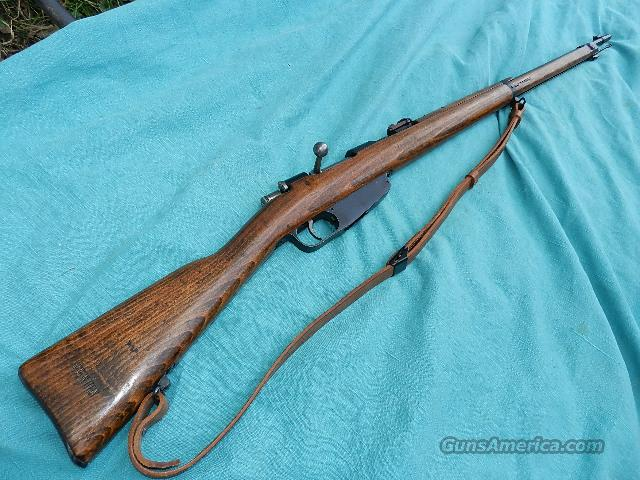 CARCANO 1891/41 RIFLE  Guns > Rifles > Military Misc. Rifles Non-US > Other