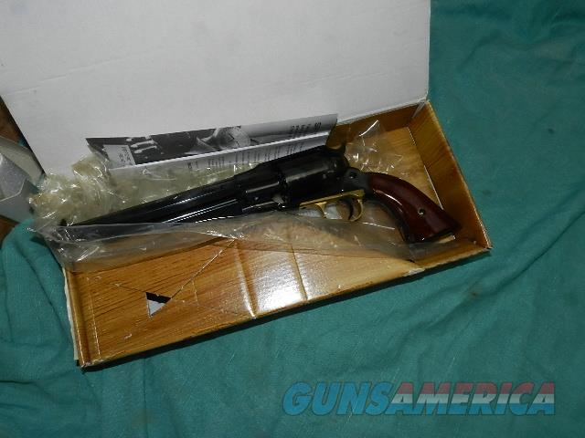UBERTI REMINGTON 1858 NIB .44 REVOLVER  Guns > Pistols > Uberti Pistols > Percussion