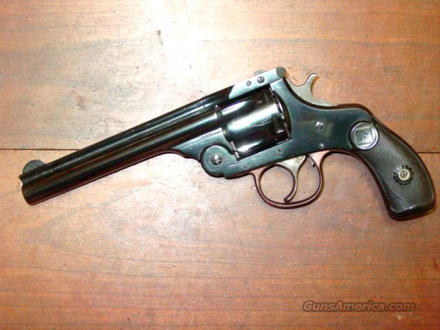 H&R .38 BLUE LONG BARREL  Guns > Pistols > Harrington & Richardson Pistols