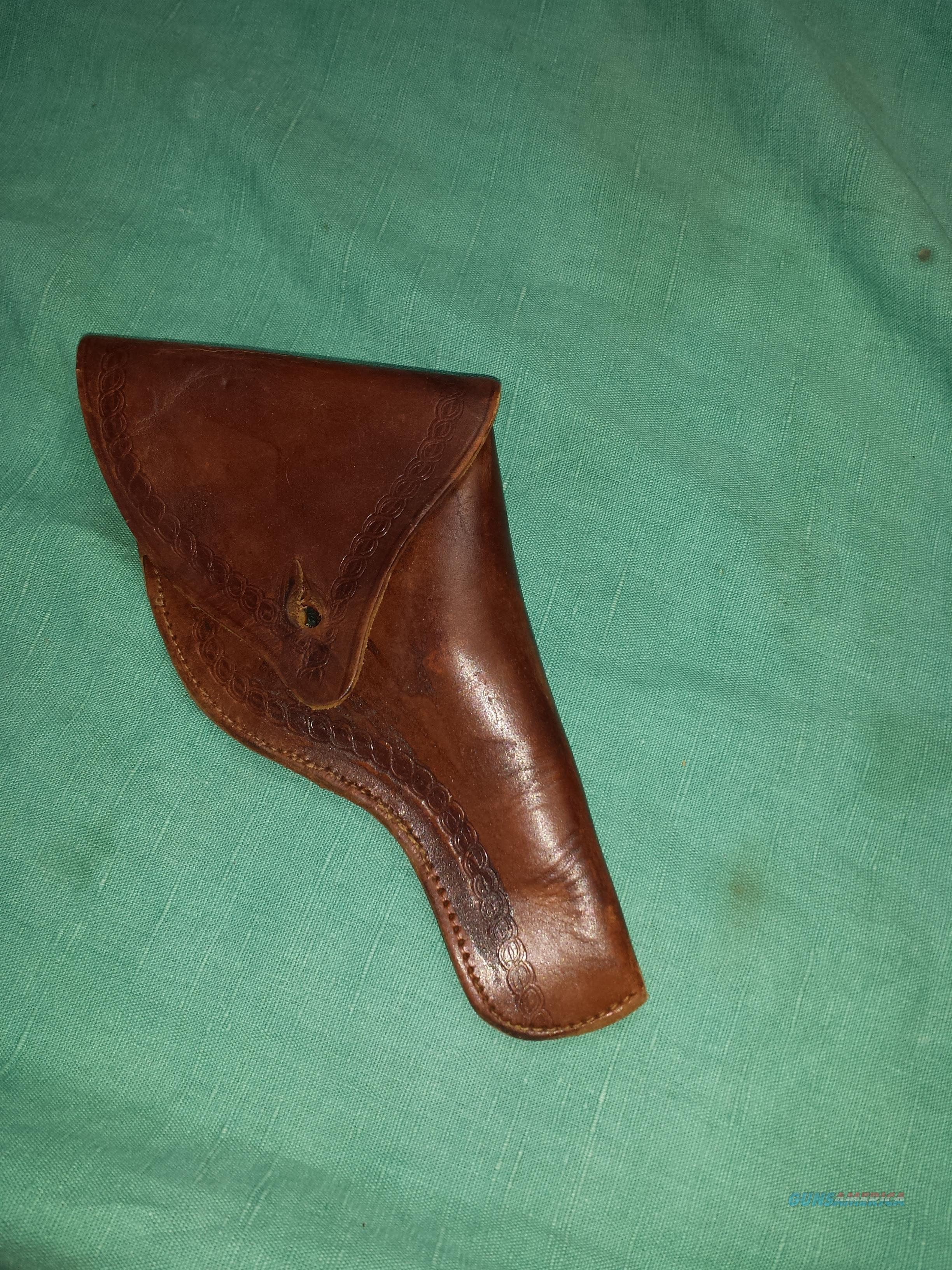 VINTAGE SMALL FRAME REVOLVER  HOLSTER  Non-Guns > Holsters and Gunleather > Revolver