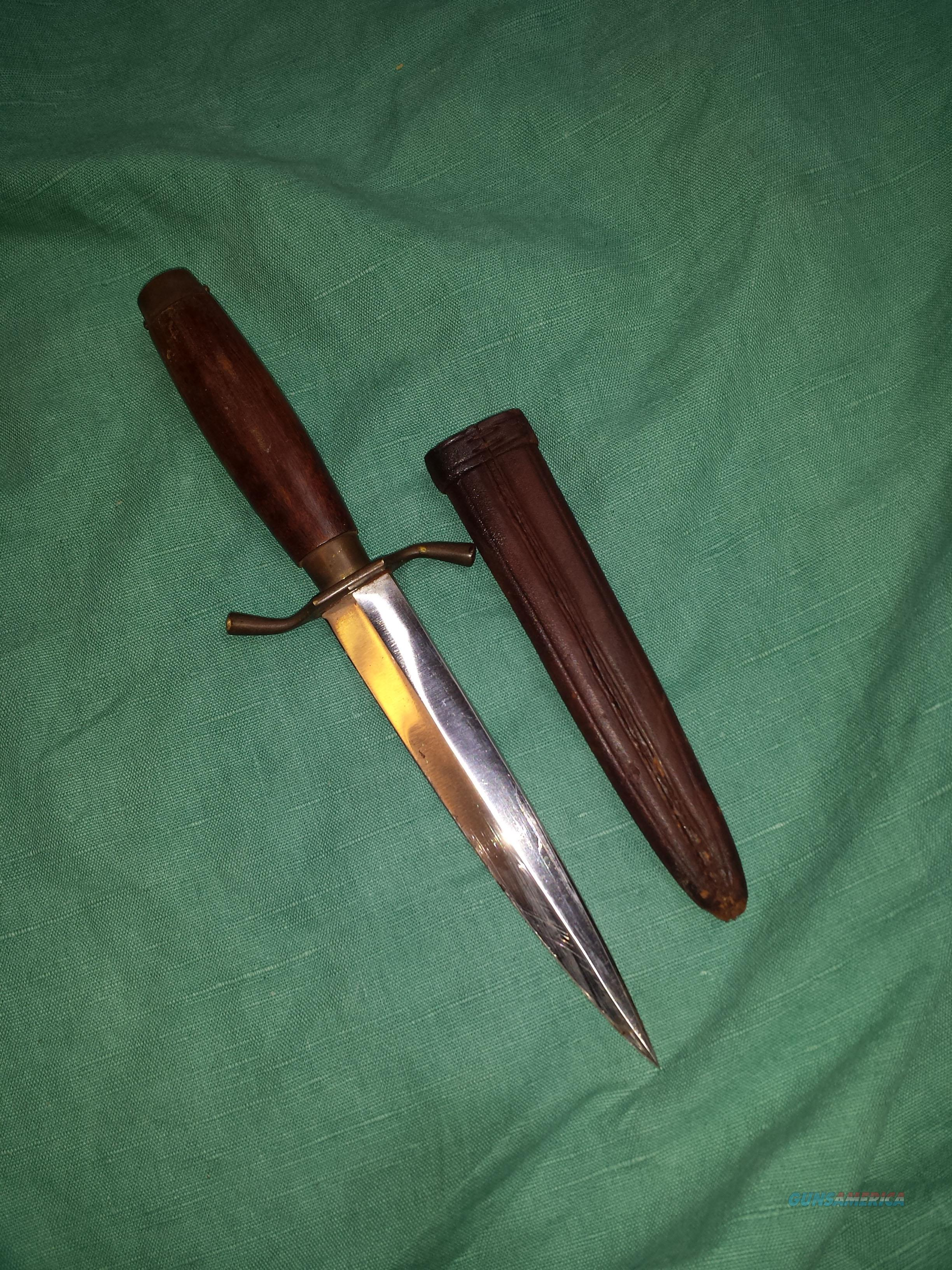 GERMAN WWI TRENCH DAGGER  Non-Guns > Knives/Swords > Military > Non-Bayonets