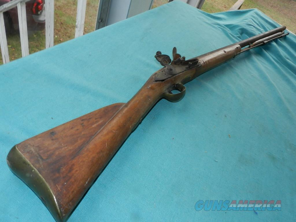 BROWN BESS FUSCIL PROJECT GUN  Guns > Rifles > Antique (Pre-1899) Rifles - Flintlock Misc