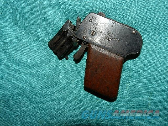 VINTAGE GERMAN TWO  BARREL GAS GUN  Guns > Pistols > D Misc Pistols